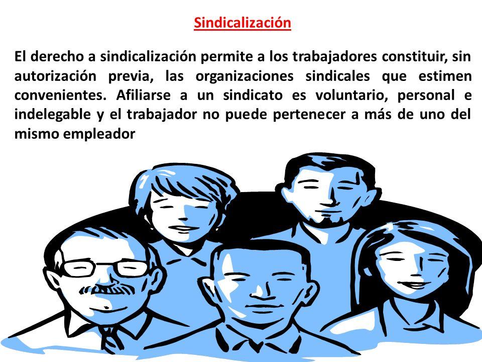 Sindicalización