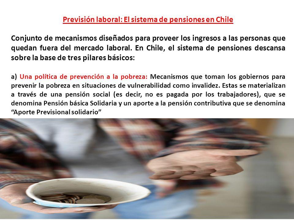 Previsión laboral: El sistema de pensiones en Chile