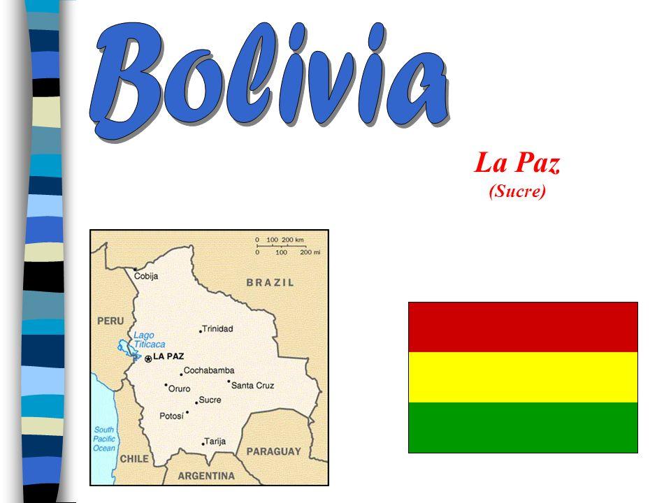 Bolivia La Paz (Sucre)
