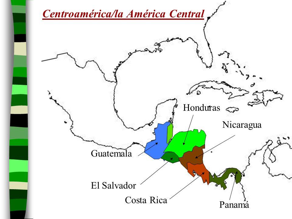 Centroamérica/la América Central