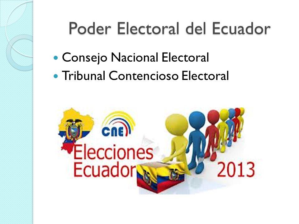 Poder Electoral del Ecuador