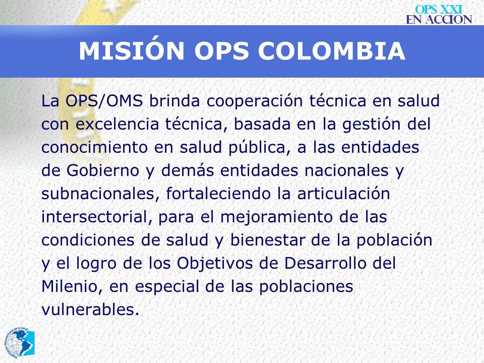 MISIÓN OPS COLOMBIA