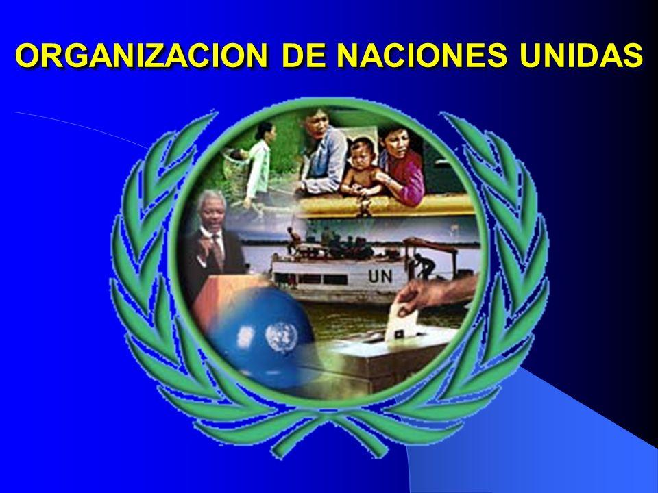 ORGANIZACION DE NACIONES UNIDAS