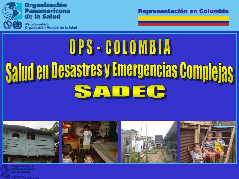 Representación en Colombia