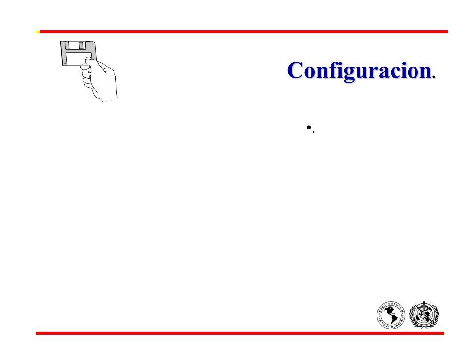 Configuracion. .
