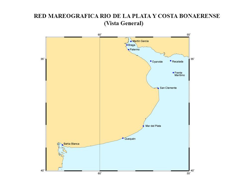 RED MAREOGRAFICA RIO DE LA PLATA Y COSTA BONAERENSE