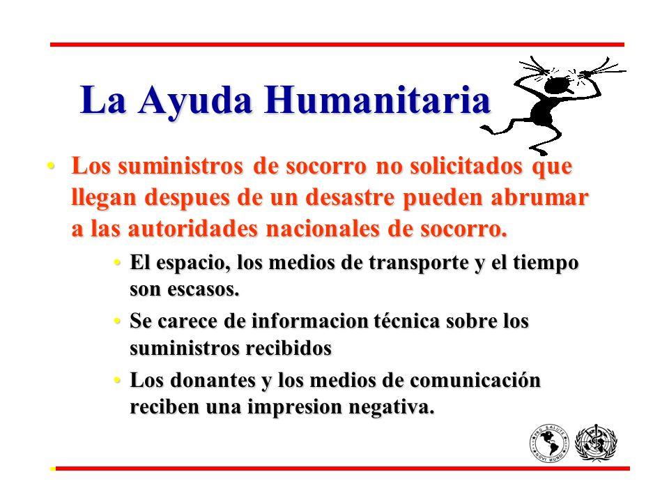 La Ayuda Humanitaria