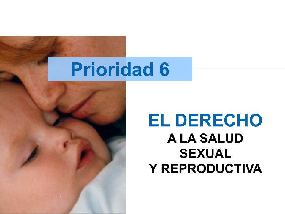 EL DERECHO A LA SALUD SEXUAL