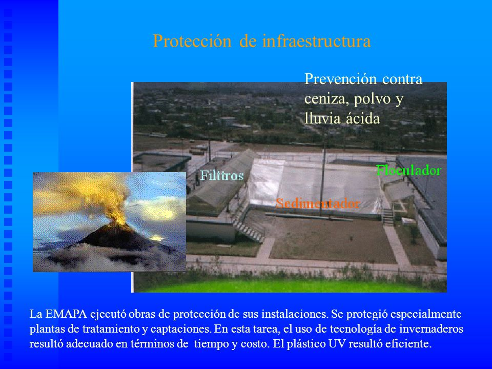 Protección de infraestructura