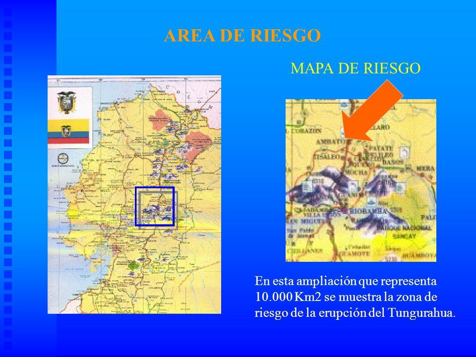 AREA DE RIESGO MAPA DE RIESGO