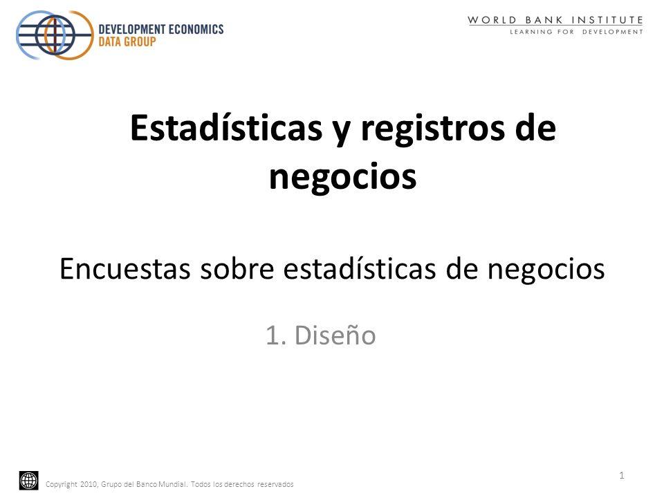 Encuestas sobre estadísticas de negocios