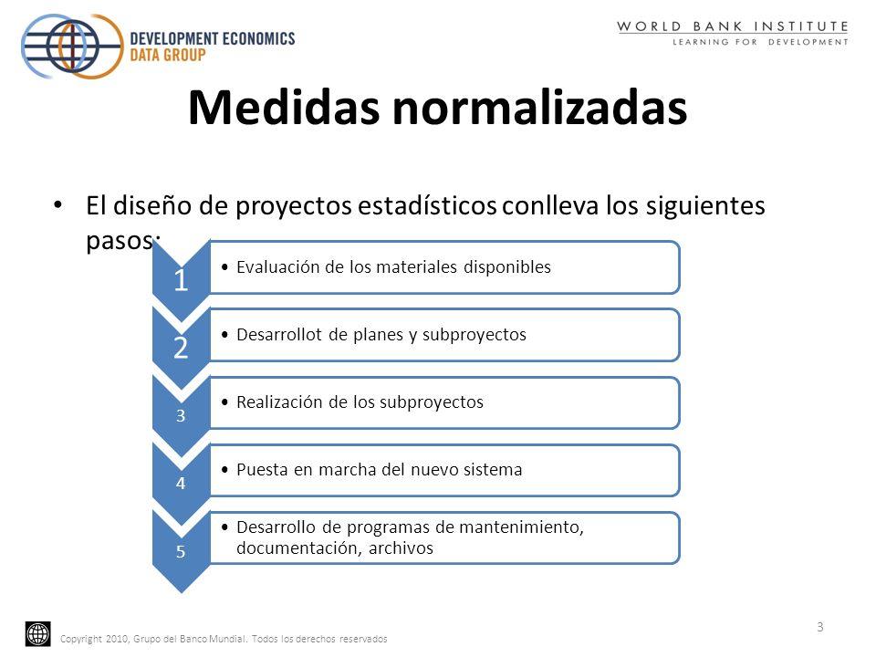 Medidas normalizadas El diseño de proyectos estadísticos conlleva los siguientes pasos: 1. Evaluación de los materiales disponibles.