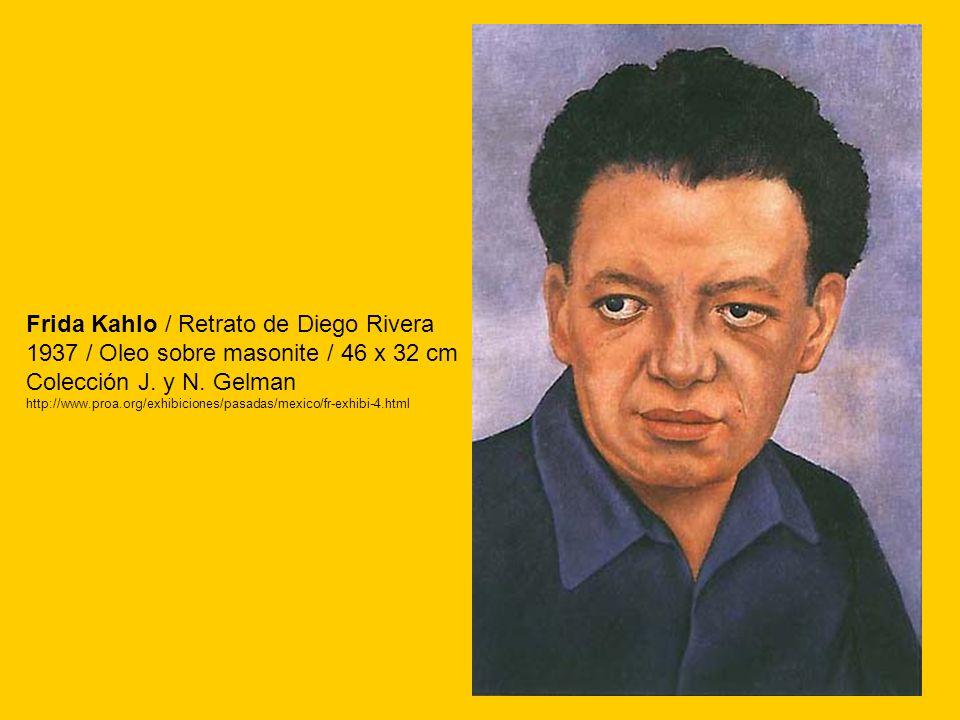 Frida Kahlo / Retrato de Diego Rivera
