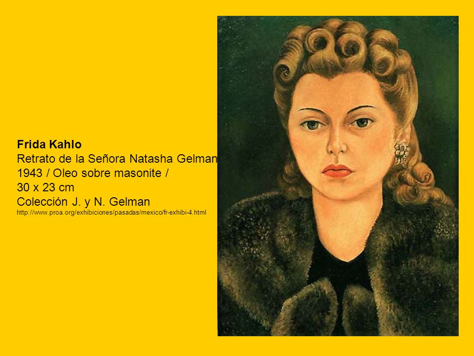 Retrato de la Señora Natasha Gelman