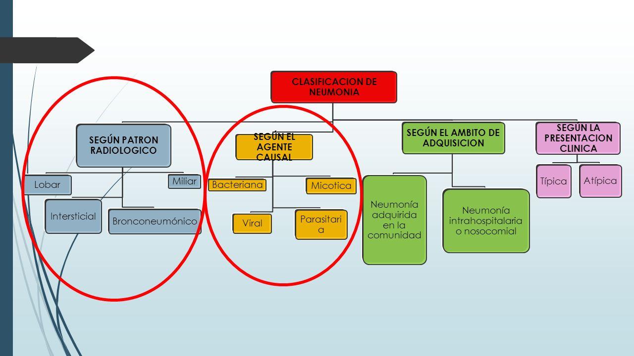 CLASIFICACION DE NEUMONIA