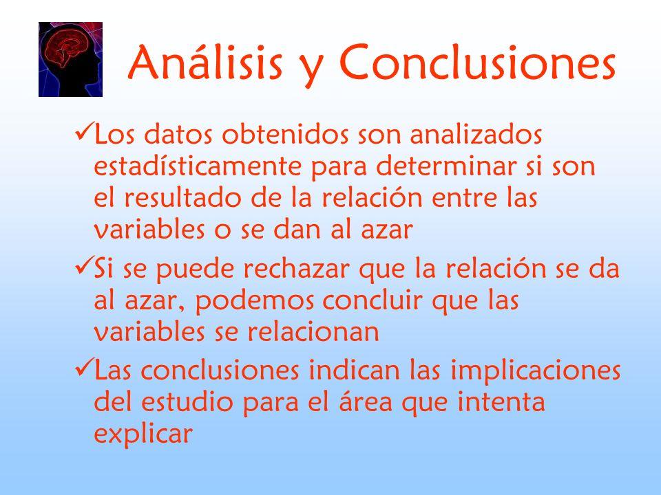 Análisis y Conclusiones