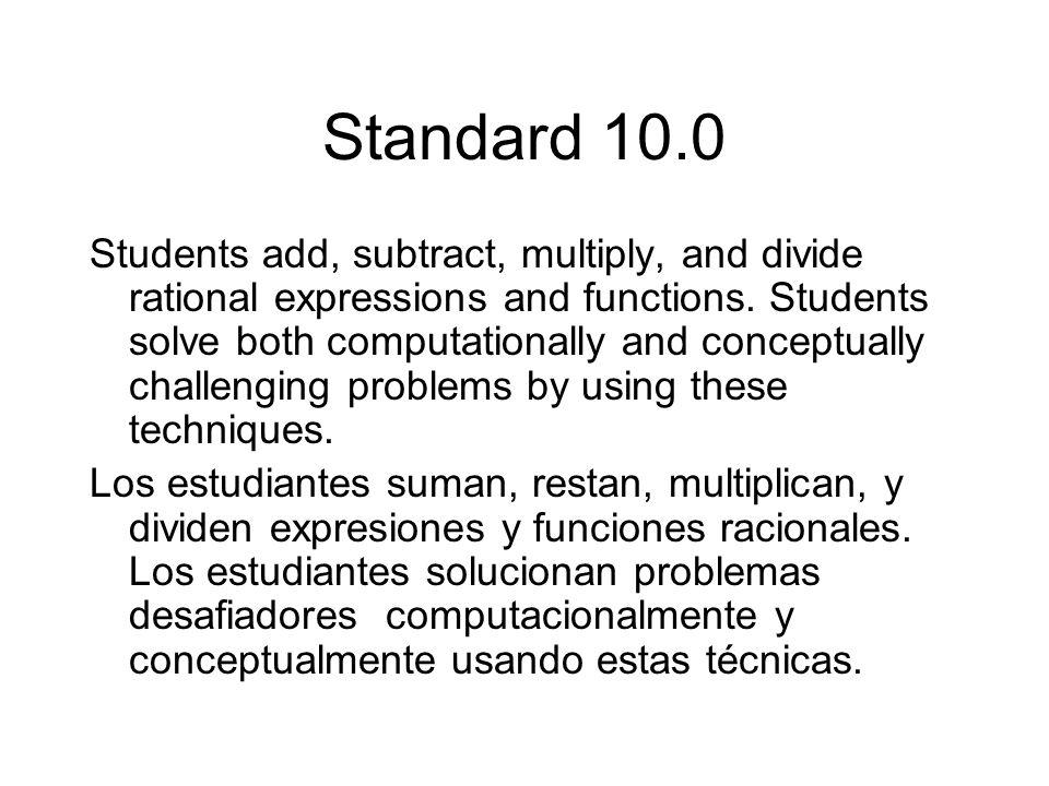 Standard 10.0