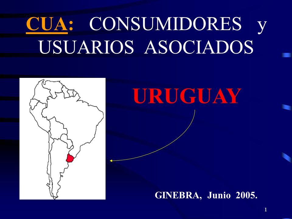 CUA: CONSUMIDORES y USUARIOS ASOCIADOS