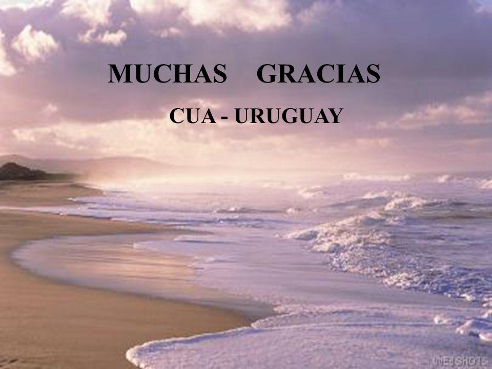 MUCHAS GRACIAS CUA - URUGUAY
