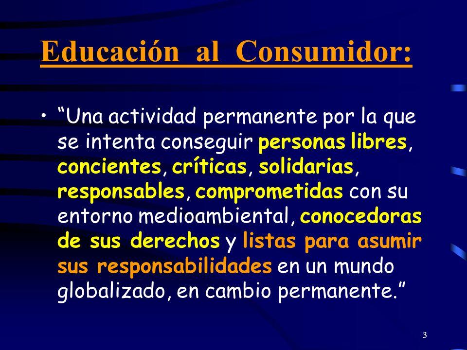 Educación al Consumidor: