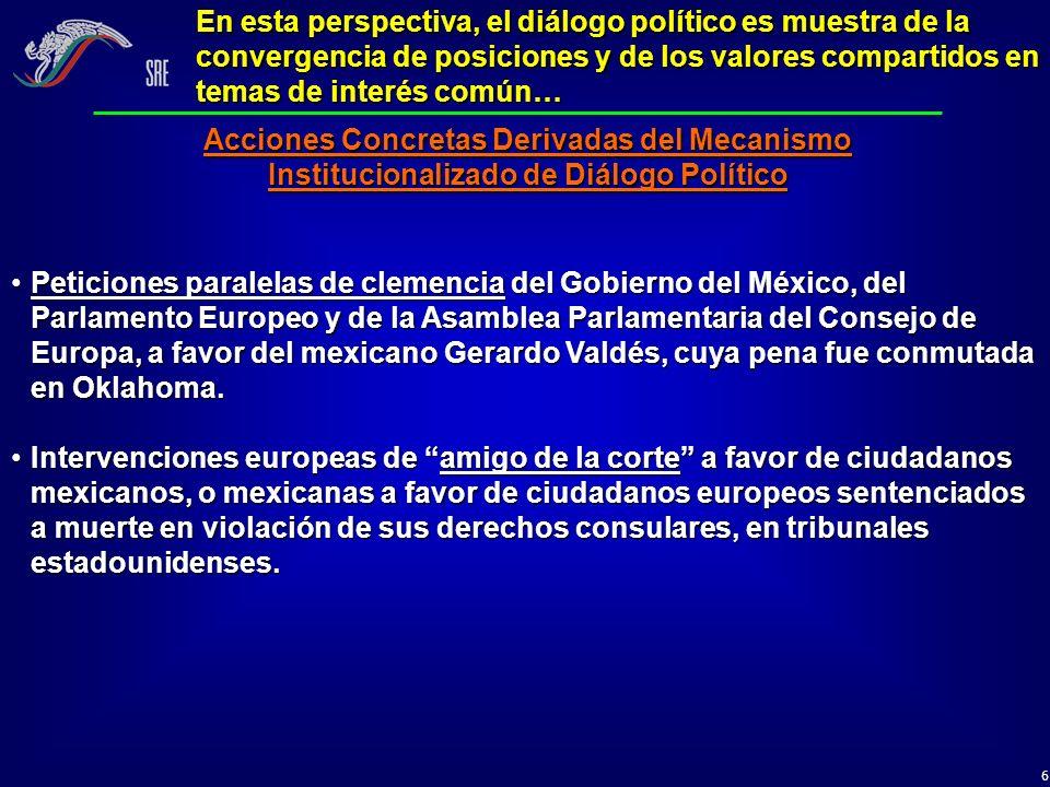 En esta perspectiva, el diálogo político es muestra de la convergencia de posiciones y de los valores compartidos en temas de interés común…