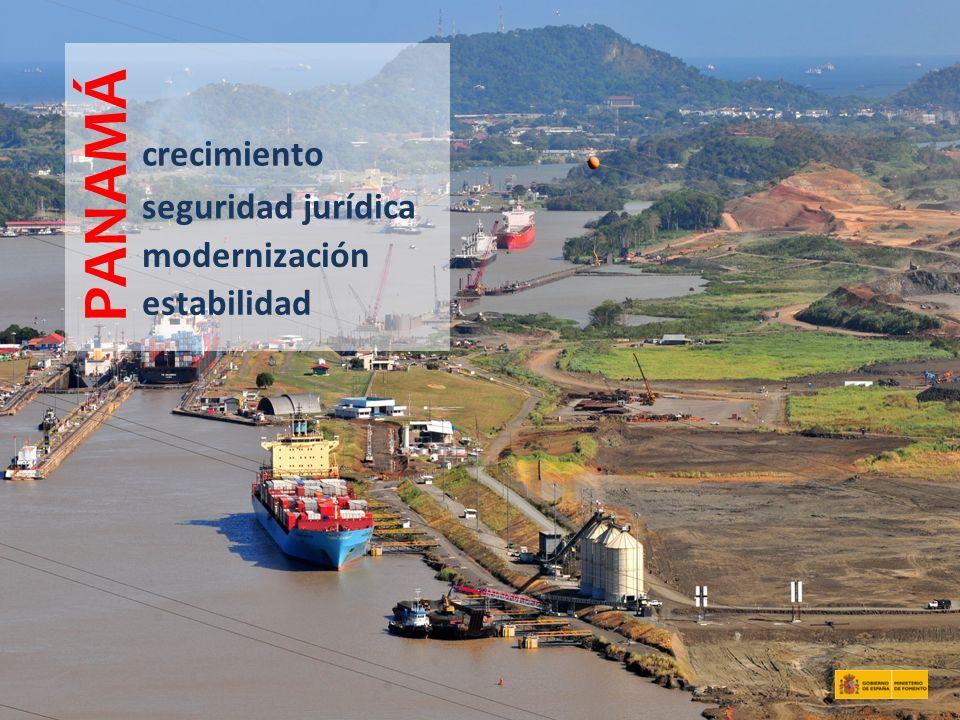PANAMÁ crecimiento seguridad jurídica modernización estabilidad