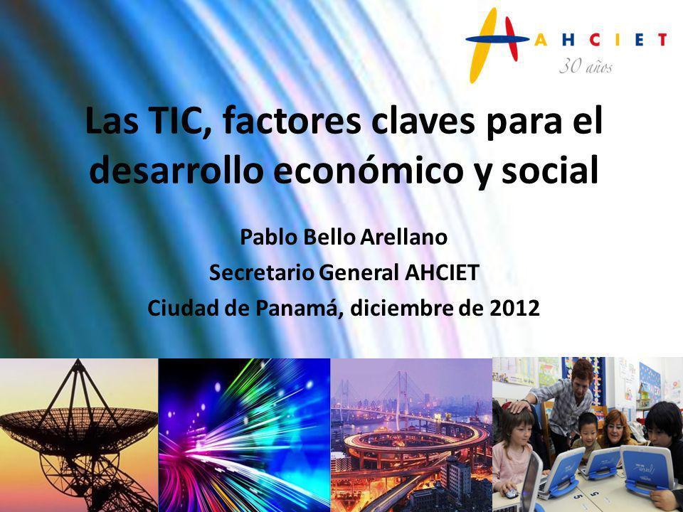 Las TIC, factores claves para el desarrollo económico y social