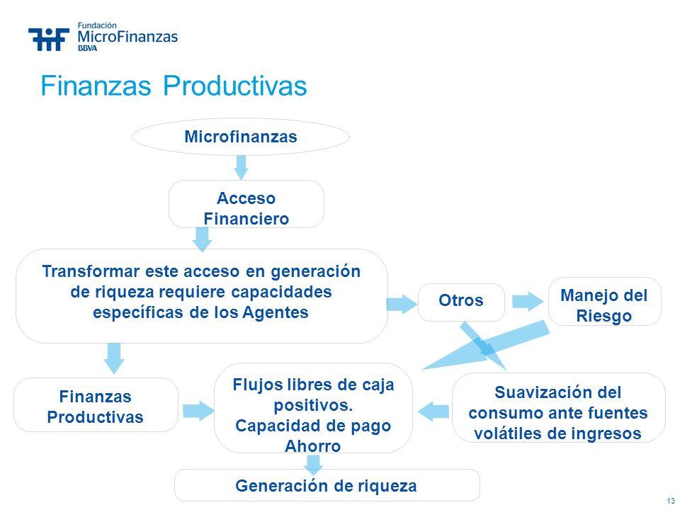 Finanzas Productivas Microfinanzas Acceso Financiero
