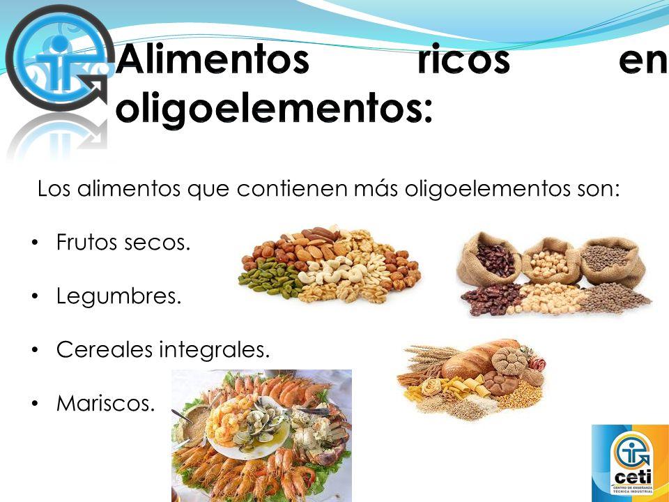 Oligoelementos agregados a los alimentos ppt video online descargar - Hierro alimentos que lo contienen ...