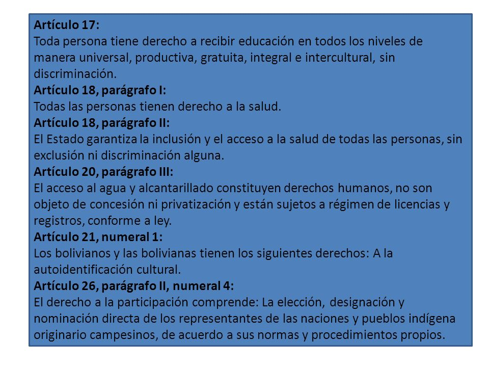 Artículo 17: