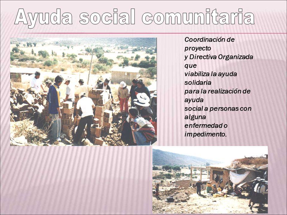 Ayuda social comunitaria