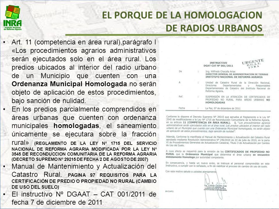 EL PORQUE DE LA HOMOLOGACION DE RADIOS URBANOS