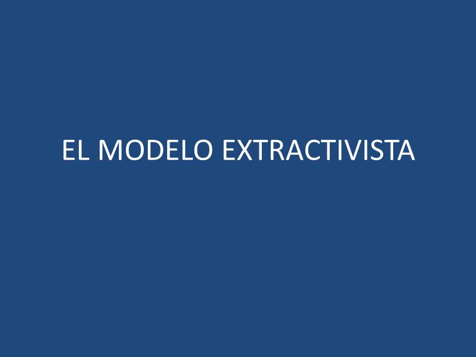 EL MODELO EXTRACTIVISTA