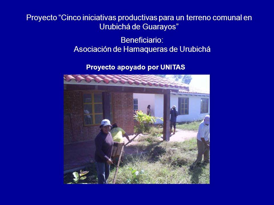 Beneficiario: Asociación de Hamaqueras de Urubichá