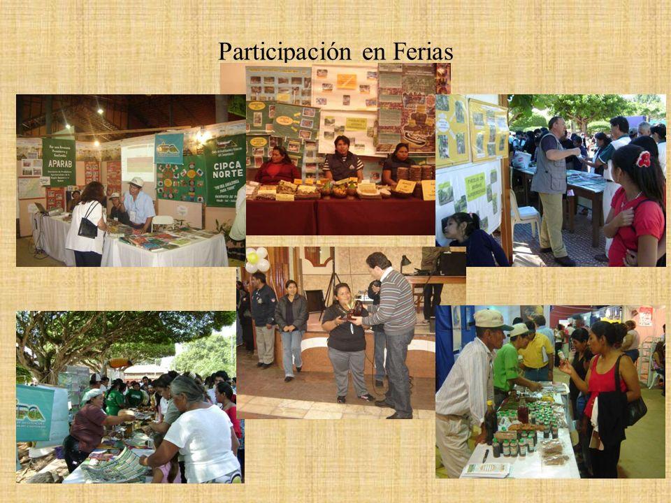 Participación en Ferias