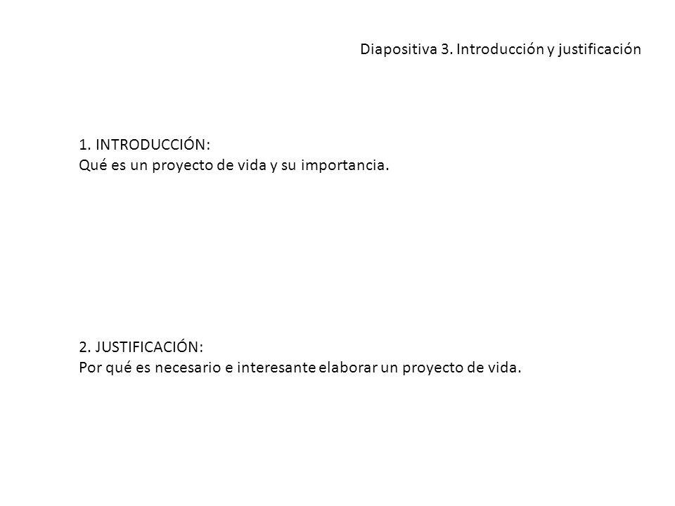 Diapositiva 3. Introducción y justificación