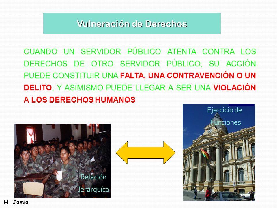 Vulneración de Derechos