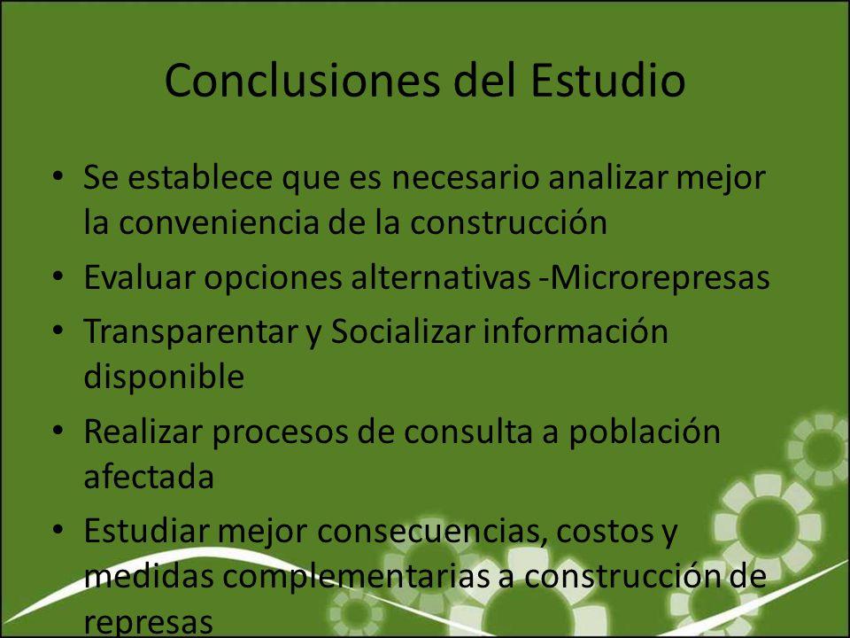 Conclusiones del Estudio