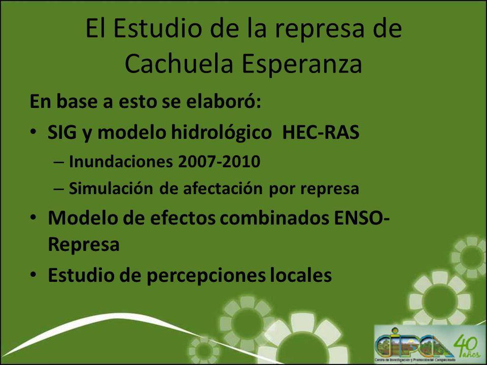 El Estudio de la represa de Cachuela Esperanza