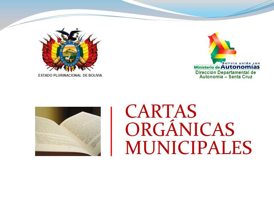 FORO TALLER TECNICO SOBRE CARTAS ORGANICAS