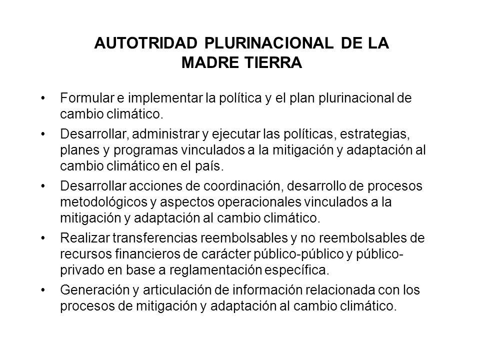AUTOTRIDAD PLURINACIONAL DE LA