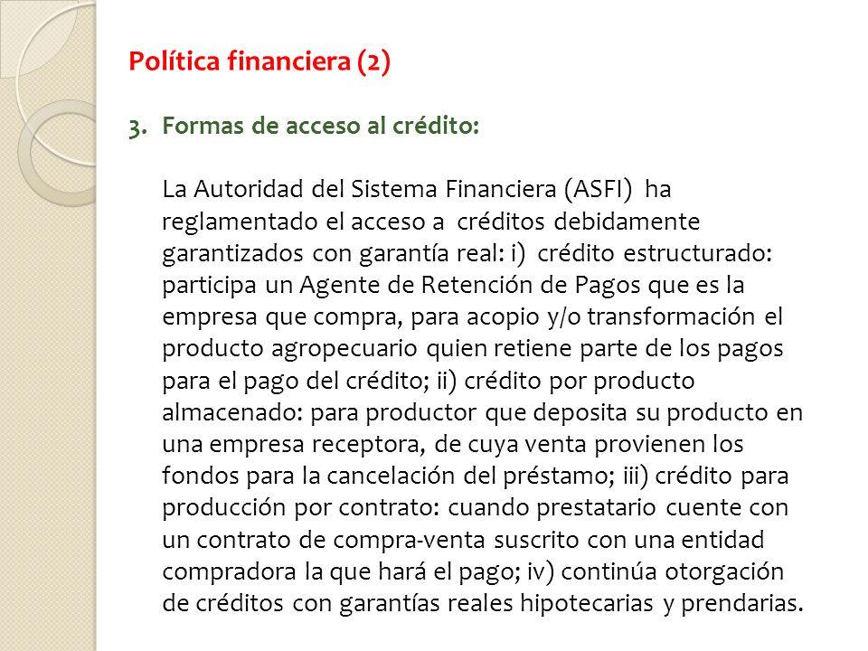 Política financiera (2)