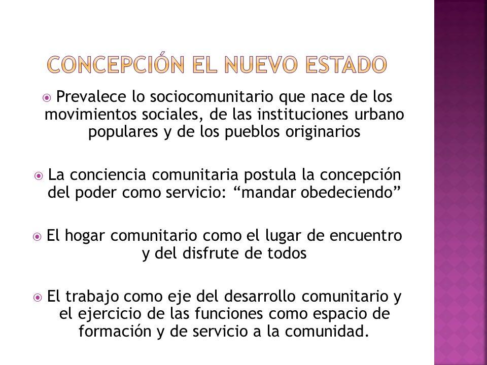 Concepción el nuevo estado