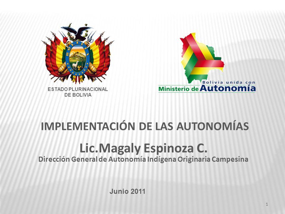 Unidad de Investigación - Ministerio de Autonomía