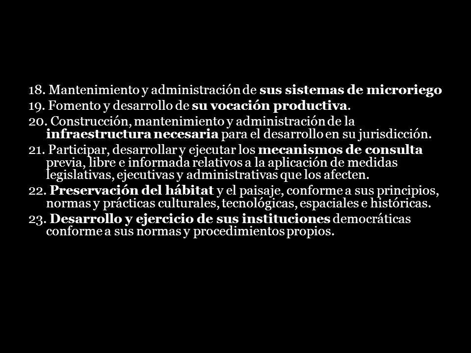 18. Mantenimiento y administración de sus sistemas de microriego