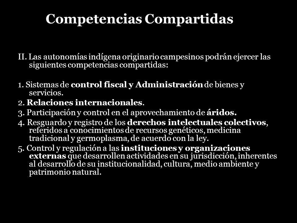 Competencias Compartidas