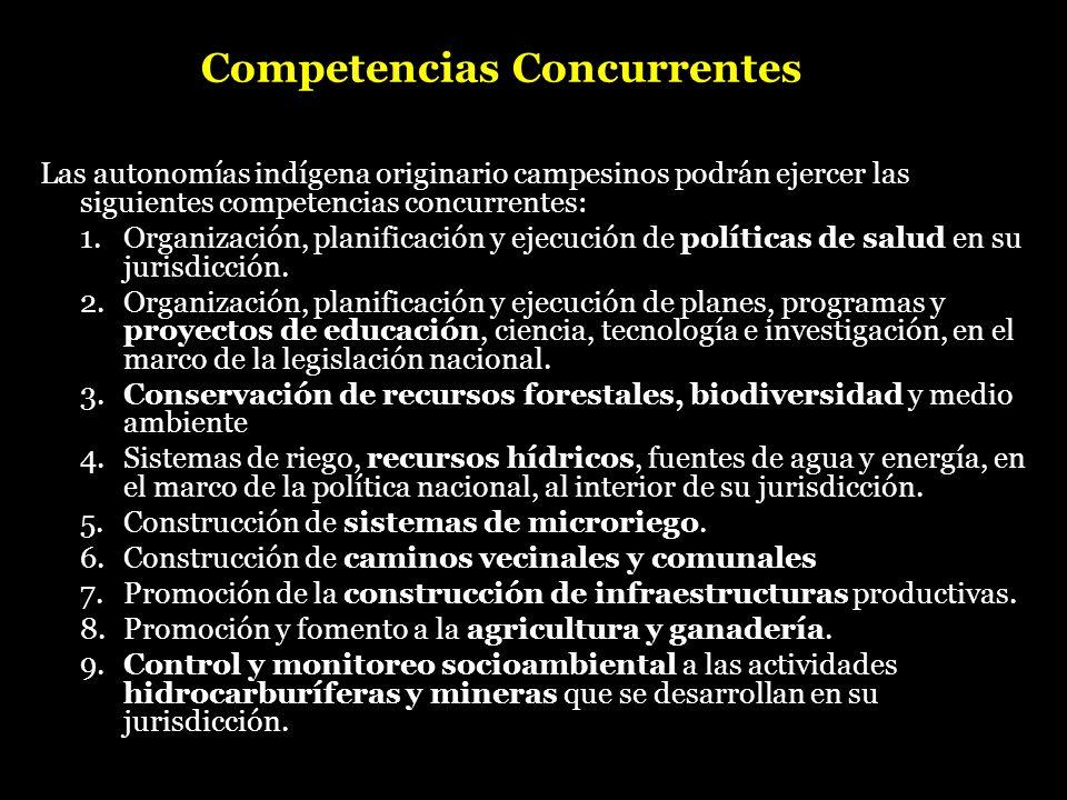 Competencias Concurrentes