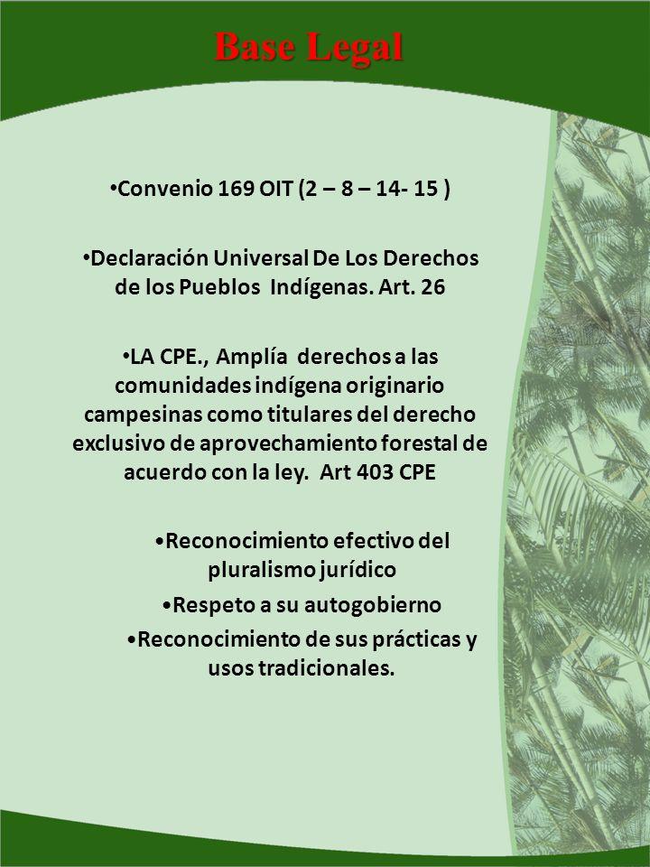 Base Legal Convenio 169 OIT (2 – 8 – 14- 15 )