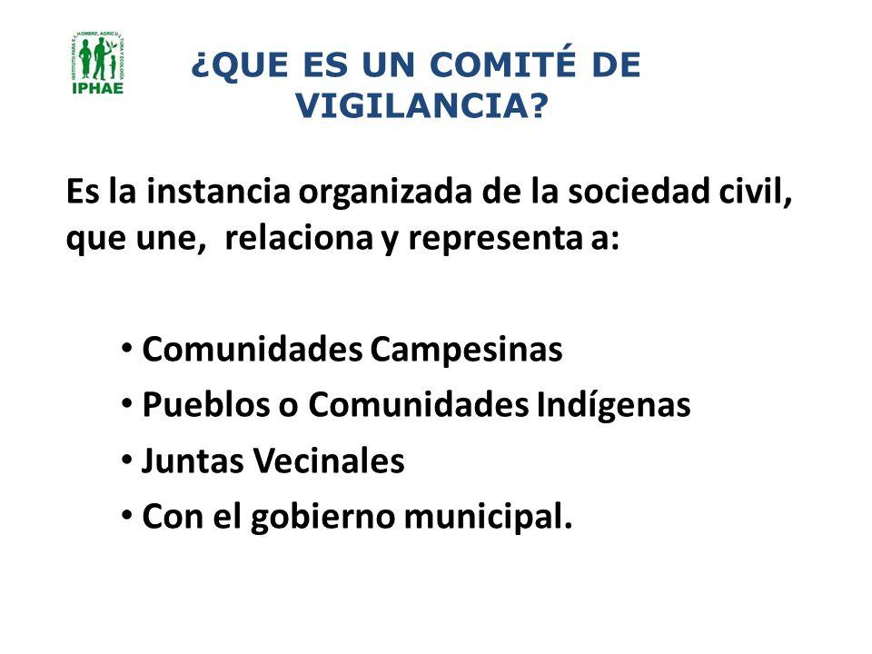 Comunidades Campesinas Pueblos o Comunidades Indígenas