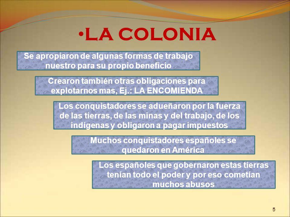 Muchos conquistadores españoles se quedaron en América